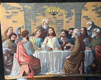 Paint by number Last Supper