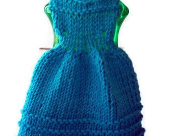 Knit Cotton Dishcloth Dress