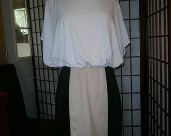 Women's Blouson Top Dress