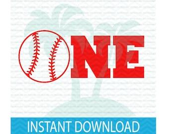 first birthday svg, baseball svg, birthday svg,baseball birthday svg, ONE baseball SVG, 1st birthday boy SVG, svg files for Silhouette