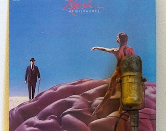 "Rush Vinyl Record LP Progressive Rock Canadian 1970s Album Classic Rock Rush ""Hemispheres"" (Original 1978 Polygram Records w/ ""The Trees"")"