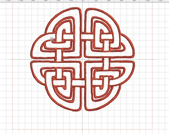 "Embroidery file ""Celtic knot angular"""