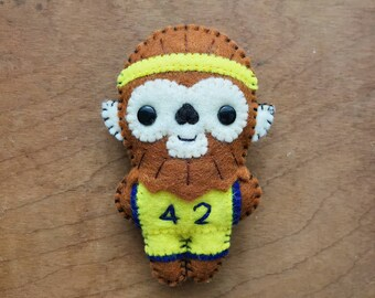 Felt Teen Wolf - Pocket Plush toy