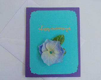 Handmade Card, Greeting Card, Happy Anniversary
