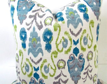 PILLOW Covers Turquoise Throw Pillows Teal Pillows Lime Green Pillows Navy Blue Throw Pillow Covers 20x20 Dark Blue Home and Living
