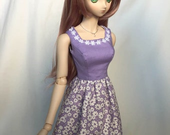 Dollfie Dream Purple Fields Dress