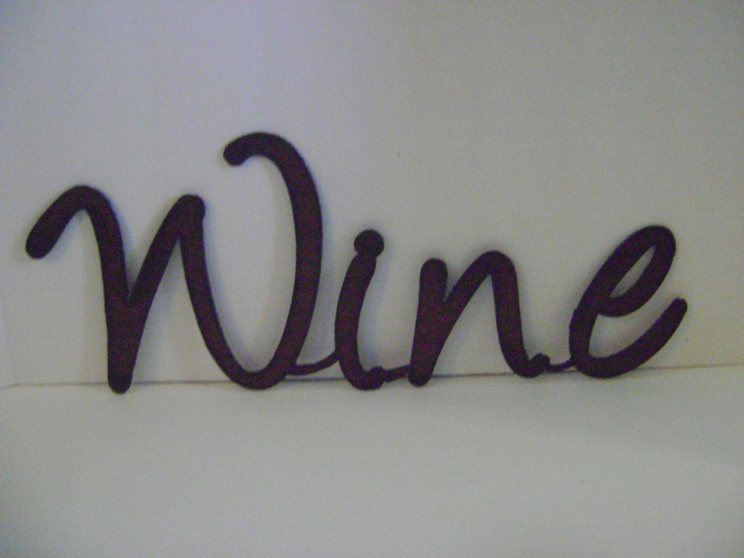 Metal Wall Word Signs Glamorous Wine Sign Wall Art Word Art Metal Words Sayings Signs Inspiration Design
