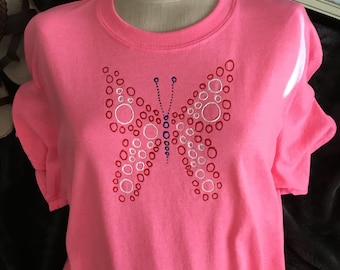 Butterfly Outline Tshirt