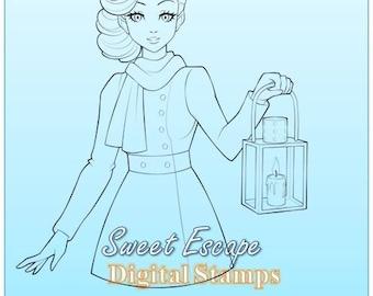 Nancy Digital Stamp