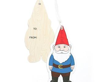 Garden Gnome Gift Tags