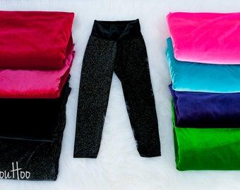 Stretch Velvet Leggings for kids