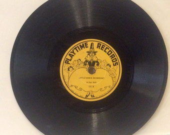 Playtime Records 1937 lab copy 78rpm record. Excellent free ship to US