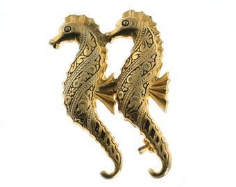 Seahorse Brooch Made in Spain