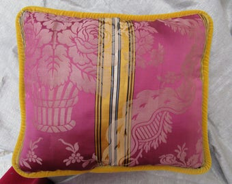 Antique DAMASK pillow