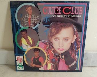 Vintage 1983 Vinyl LP Record Culture Club Colour By Numbers Near Mint Conditon 15984