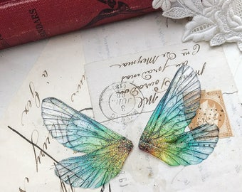 NEW pair of small rainbow faerie wings