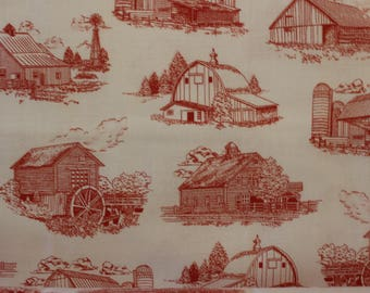 Homestead by Ivy Lane for Quilting Treasures A-201 Quilting Fabric  Sold by the Half Yard