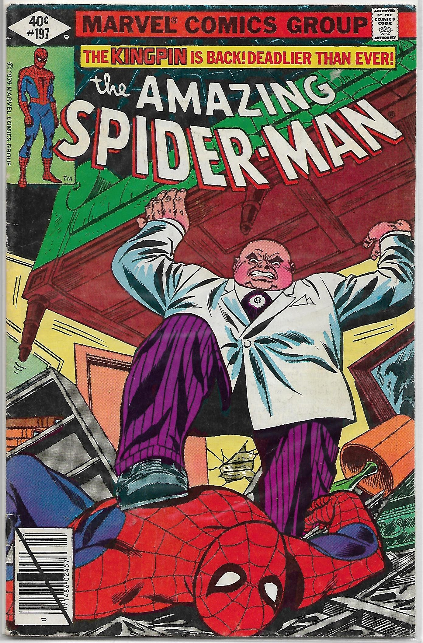 AMAZING SPIDERMAN 197 Kingpin