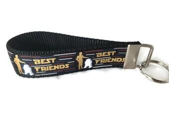 Star Wars Best Friends Keychain, Key fob, Wristlet