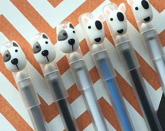 Patch the Dog Gel Pen
