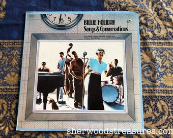 Billie Holiday  1973 Songs and Conversations  Vinyl Lp RECORD  NM- Jazz