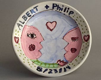 Special Order Personalized Wedding/Anniversary Plate