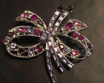 Purple Bow Pin