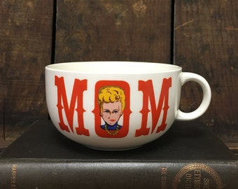 Retro 1950s Mom Novelty Mug