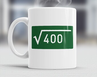 20th Birthday, Square Root Of 400, 1996 Birthday, 20th Birthday Gift, 20th Birthday Idea, Happy Birthday, 20th Birthday Present 20 year old!