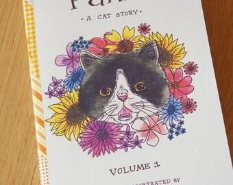 SALE Panko a cat story art zine
