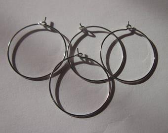4 rings hoop business in tip top 2.5 cm (142)