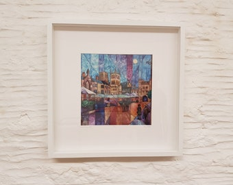 Market Place, Wells,  Framed Print by Amy Yates
