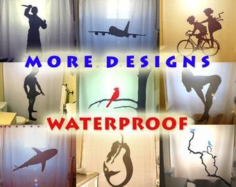 shower curtain, bathroom shower curtains, extra long shower curtain, bathroom decor, custom shower curtain, kids shower curtain