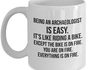 Archaeologist Mug, Archaeologist Gift, Archaeology Gift, Archaeology Mug, Personalized, Archaeology Degree, Archaeologist Graduation