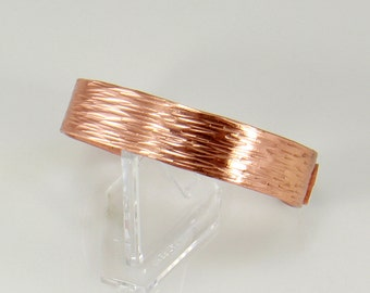 Hand Forged Copper Cuff Bracelet, Copper Bracelet, Cuff Bracelet, Rose Gold Copper Cuff, Copper Bangle, Copper Jewelry, Copper Anniversary