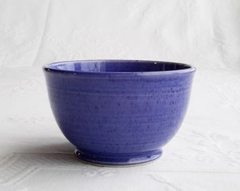 ceramic blue bowl, unique coffee bowl, pottery bowl, cereal bowl, soup bowl, ceramic bowl, gift for her, gift for him