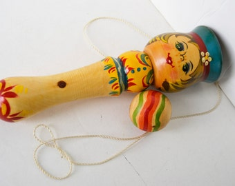 vintage wooden toy