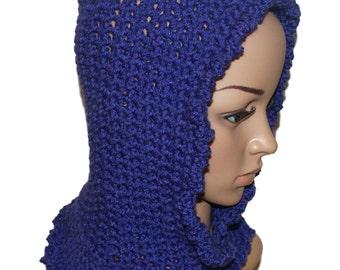Kids Pixie Hat, Elf Beanie, Crochet Gnome Hat, Pixie Hood, Hat Cowl Combo, Elf Hat, Goblin Hat, Hobbit Hat, Faery Hood, Woodland Fairy Hood