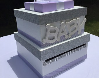 Baby Shower Card Box, Giftcard Box, And Letter Box