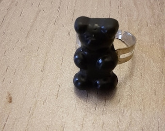 Black bear ring