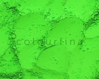 Neon Green Fluorescent Pigment