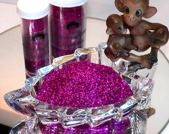 Passion Pink Extra Fine Glitter 0.008 - Many Colors Available - 2 Sizes - Visit Our Shop! B-55