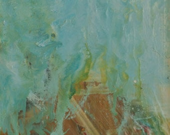 "Ann Cushing Gantz, oil on canvas, ""Abstract 2"""