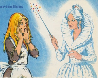 Vintage Children's Image: Cinderella