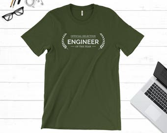Unique Gift for Engineer, Engineering T-shirt, Gift Idea for Men, Nerdy Engineer Tee Shirt Xmas Gift, Cool Gift Idea for Him- Unisex T-shirt