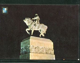 Uruguay Vintage Postcards  / 1 Unused Postcard Uruguay South America/Monument of Jose G. Artigas