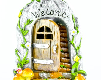Fairy Garden Hobbit Door