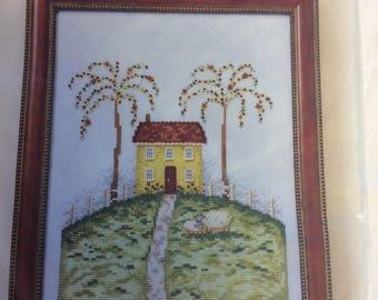 Meadowhill House CCS Chart & Embellishments Mill Hill, Debbie Mumm