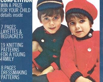 Babies & Children Vogue Knitting Magazine (1969)