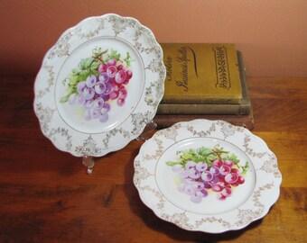 Two (2)  Vintage Decorative Plates